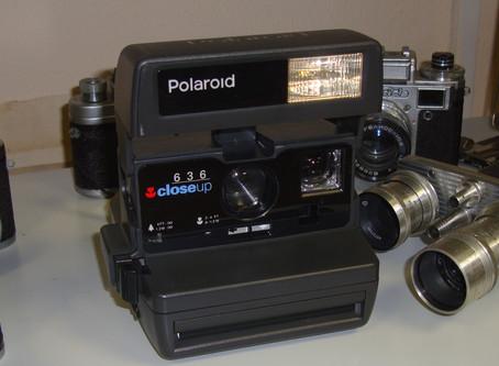 Нам подарили Полароид 636