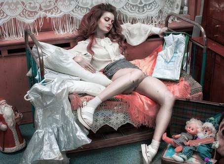 Кукла Маша в Музее Плюшкина - просто фото...