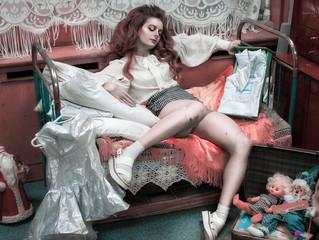 Кукла Маша из Музея Плюшкина. Классная фотосессия