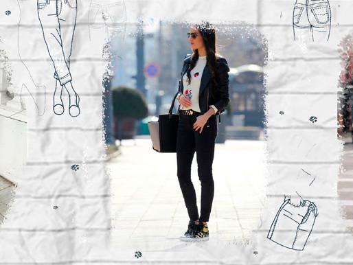 Crea los mejores outfits con jeans negros.