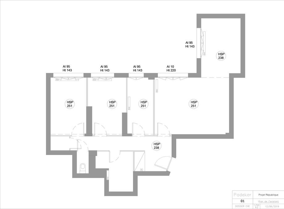 Projet Dodart 190405-01 Plan de l'etat e