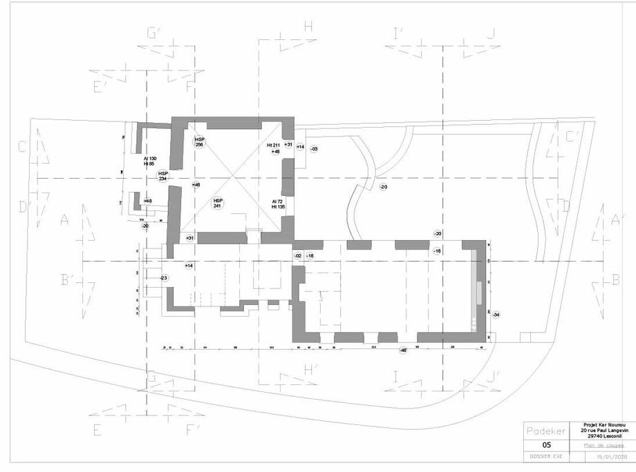 Projet Ker Nounou 200113-Plan de coupes.