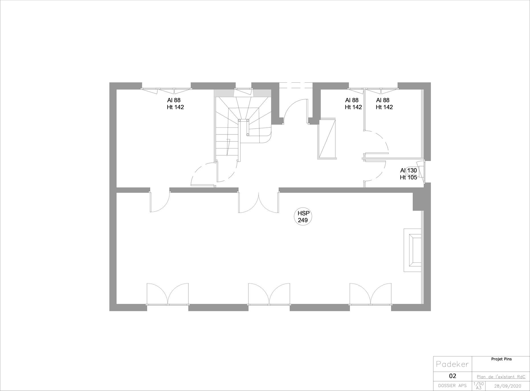Projet-Pins-200809-02-Plan-de-l'etat-exi