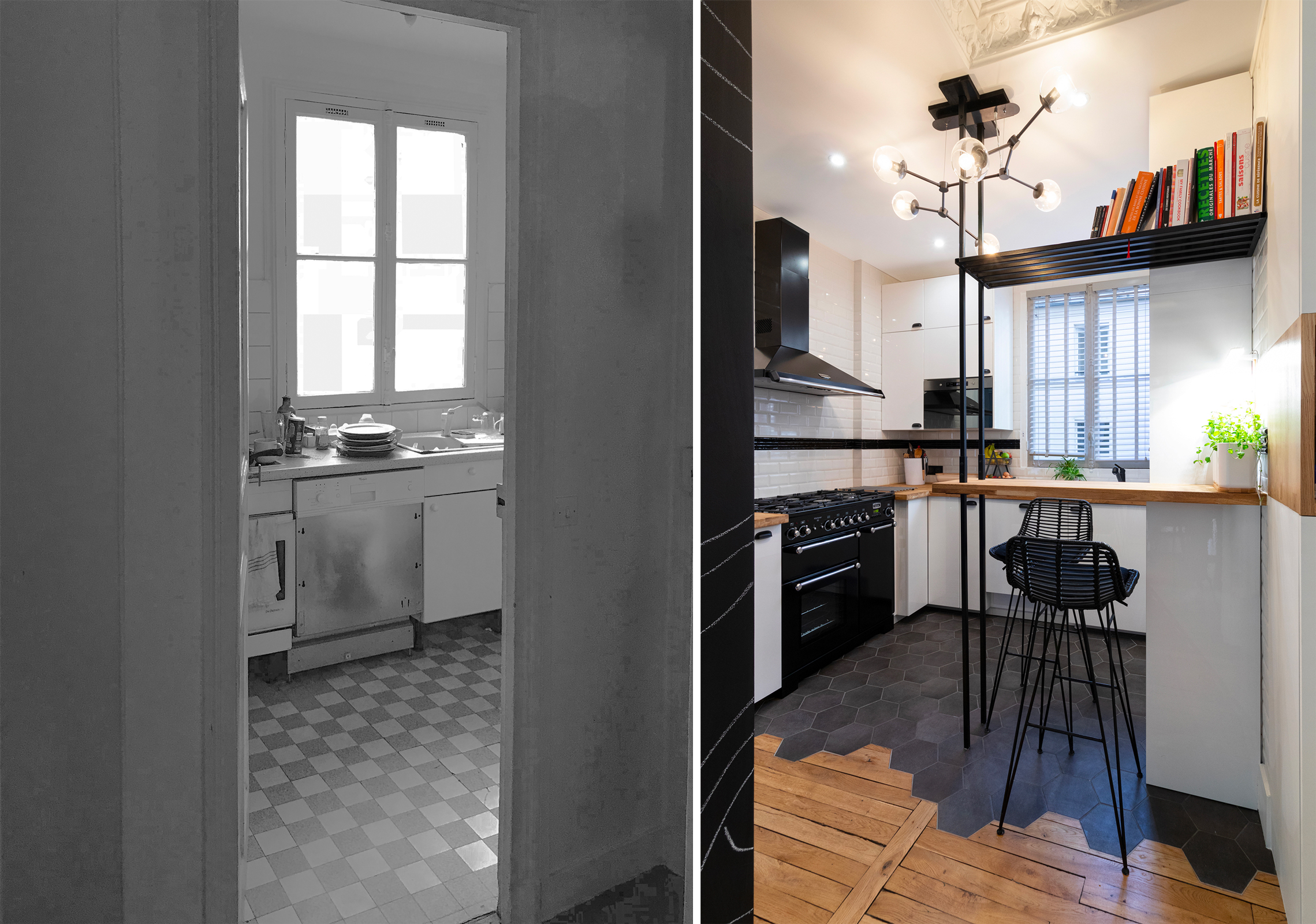 Projet Lecourbe - Avant/Après