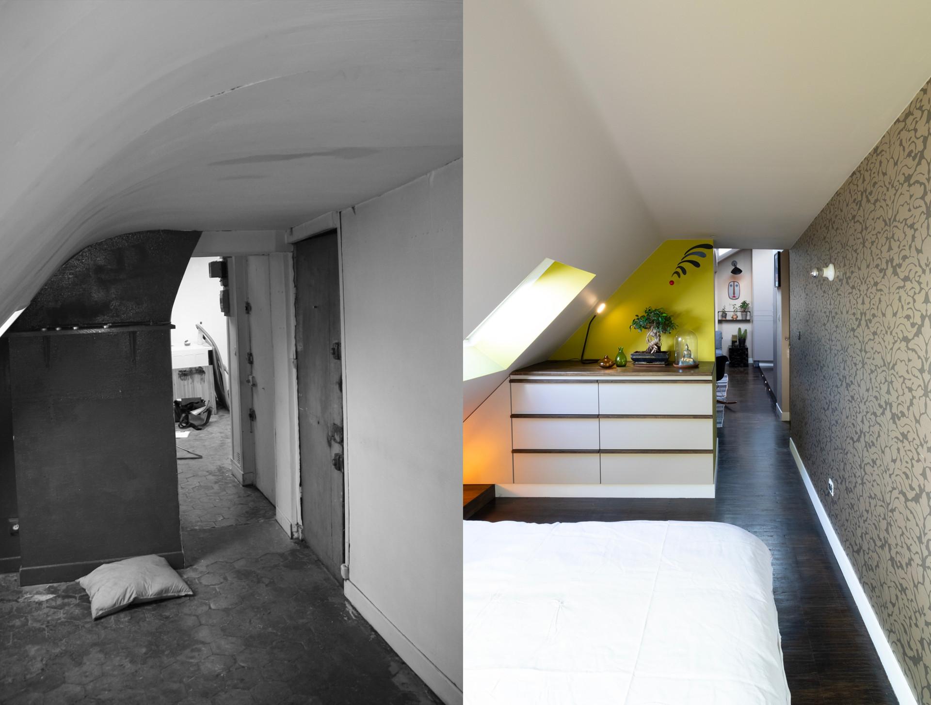 Agence Padeker - Projet Sous les toits - AVAP05