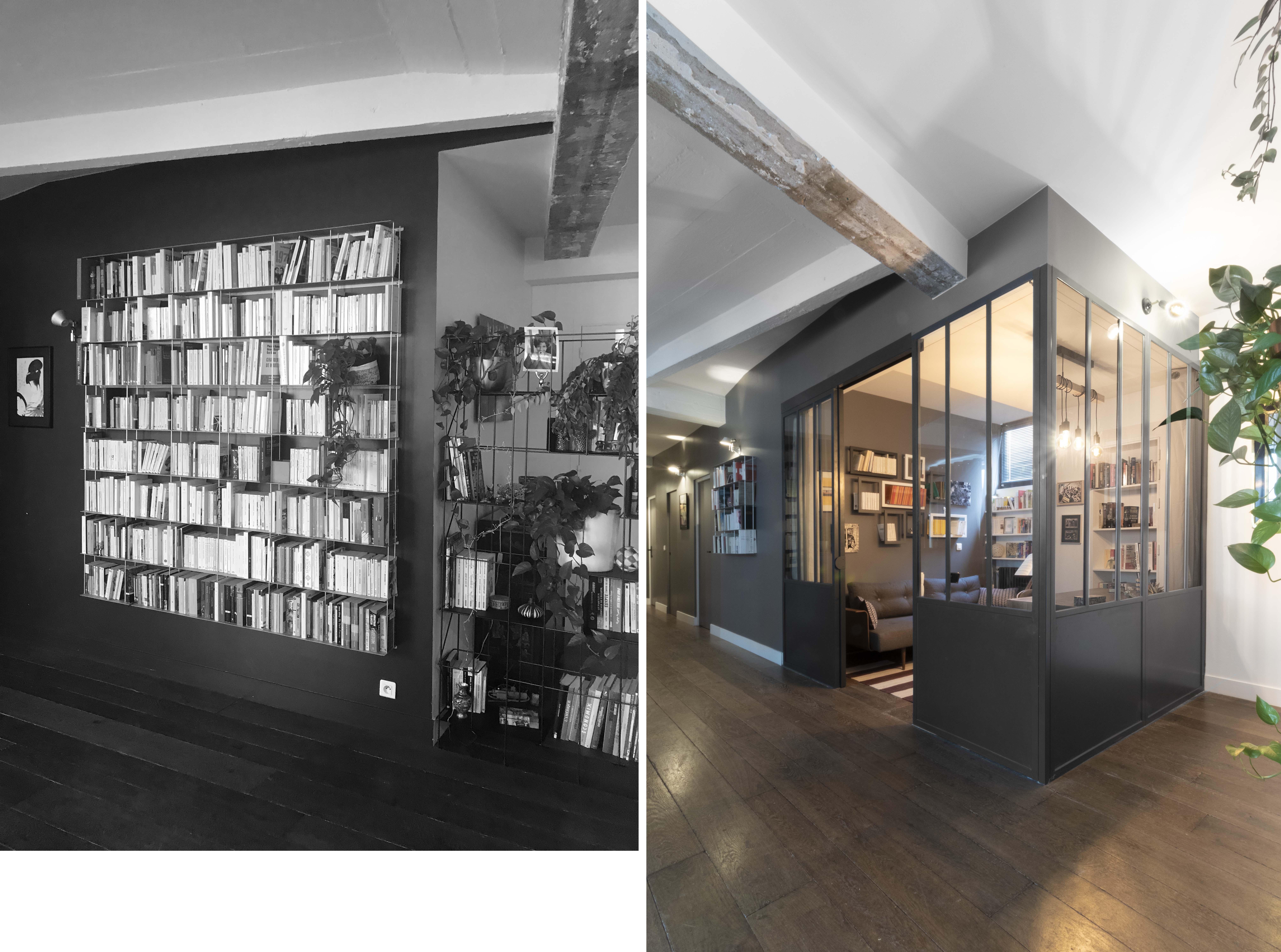 Projet loft - Avant/Après