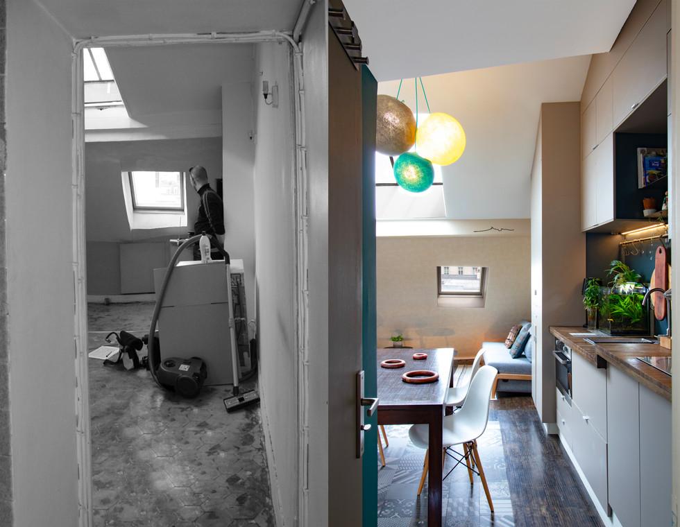 Agence Padeker - Projet Sous les toits - AVAP02