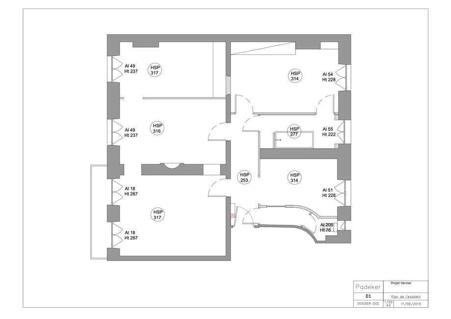 Projet Vernier 190611-01 Plan de l'etat
