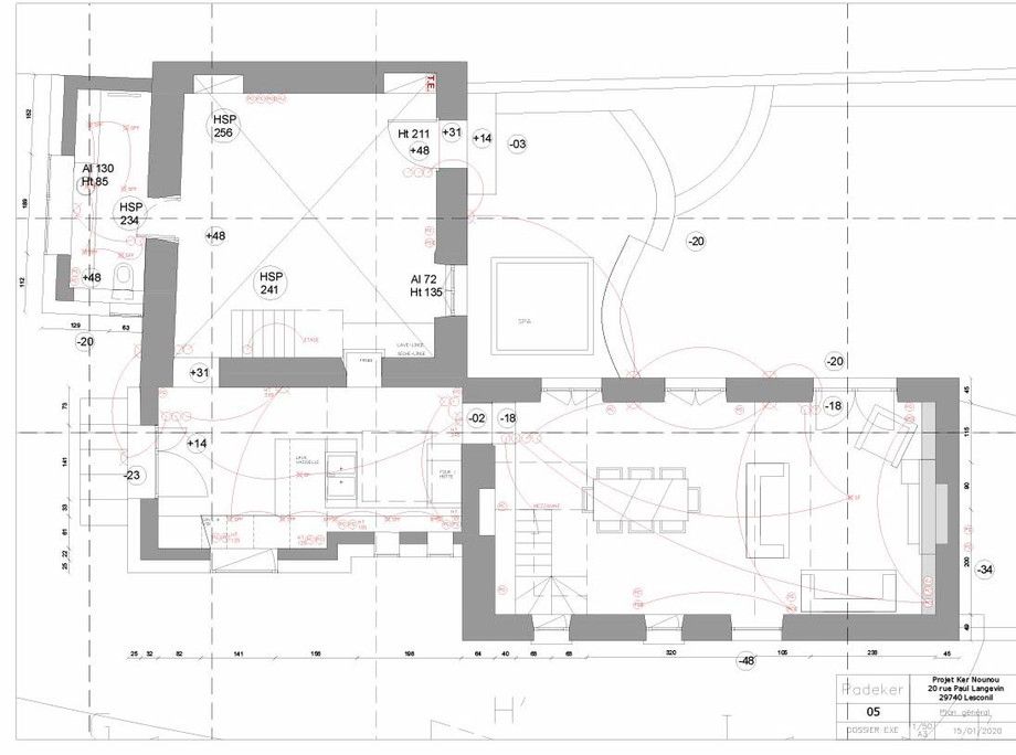 Projet Ker Nounou 200113-05 Plan de l'ag