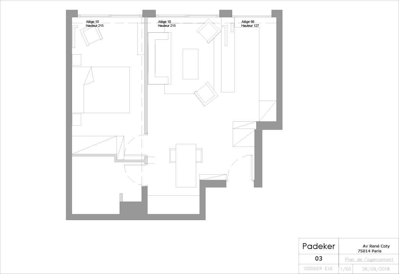 Projet Coty 180604-03 Plan de l'agenceme