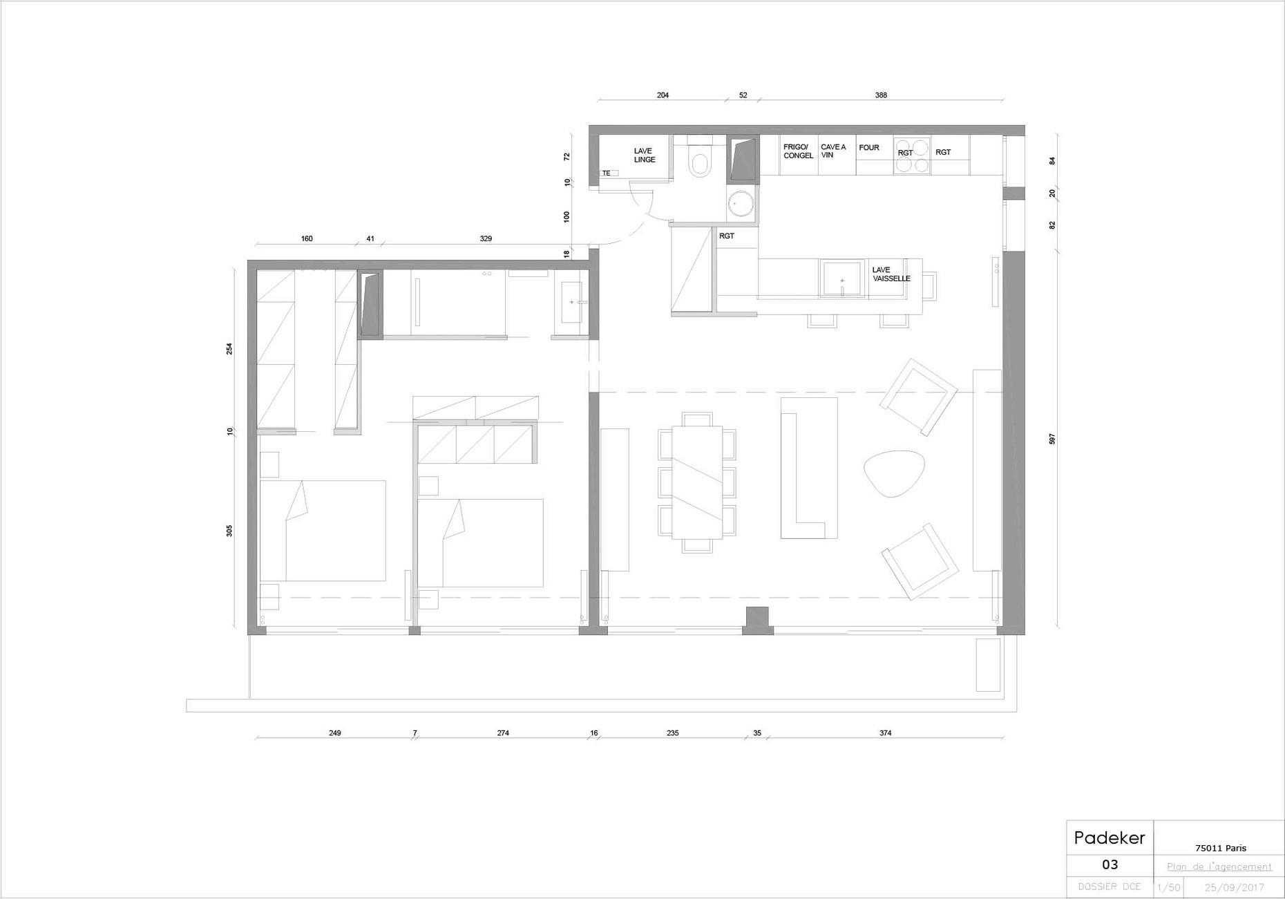 170925 Projet Roquette 03 Plan agencemen