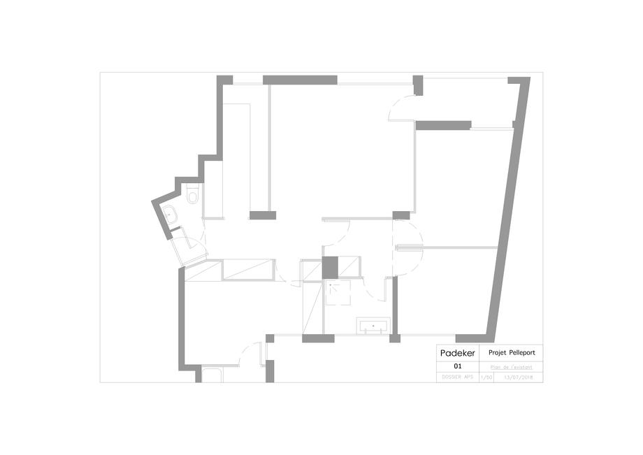 Projet-Tenon-01-Plan-de-l'etat-exist