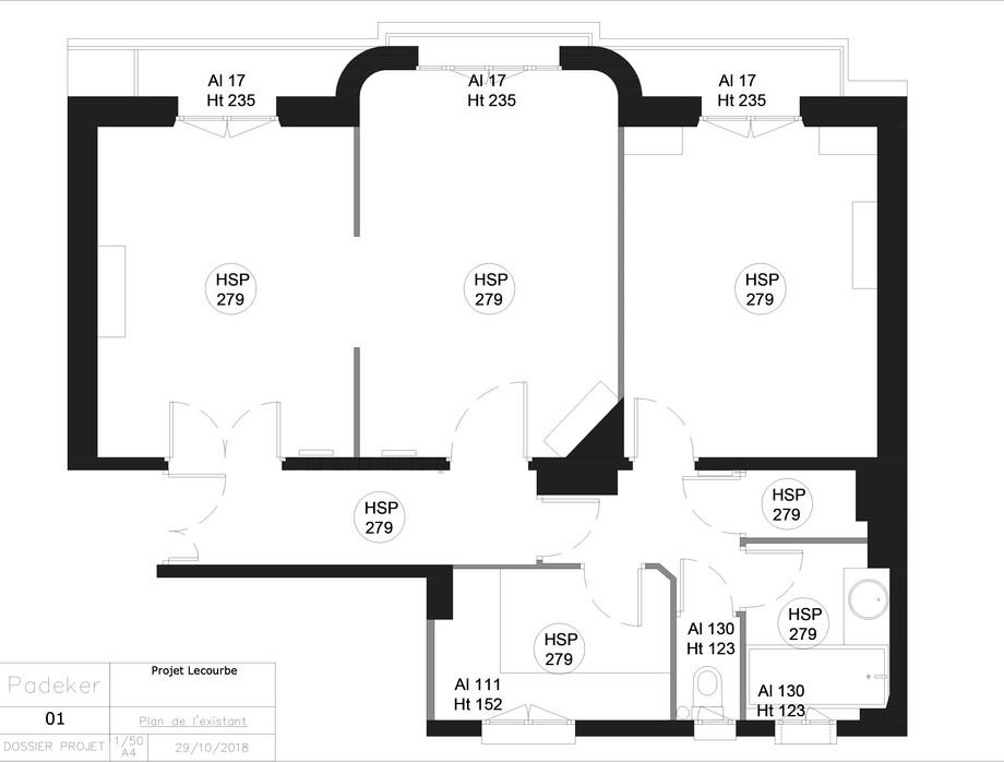 Projet Lecourbe 181029-01 Plan de l'etat