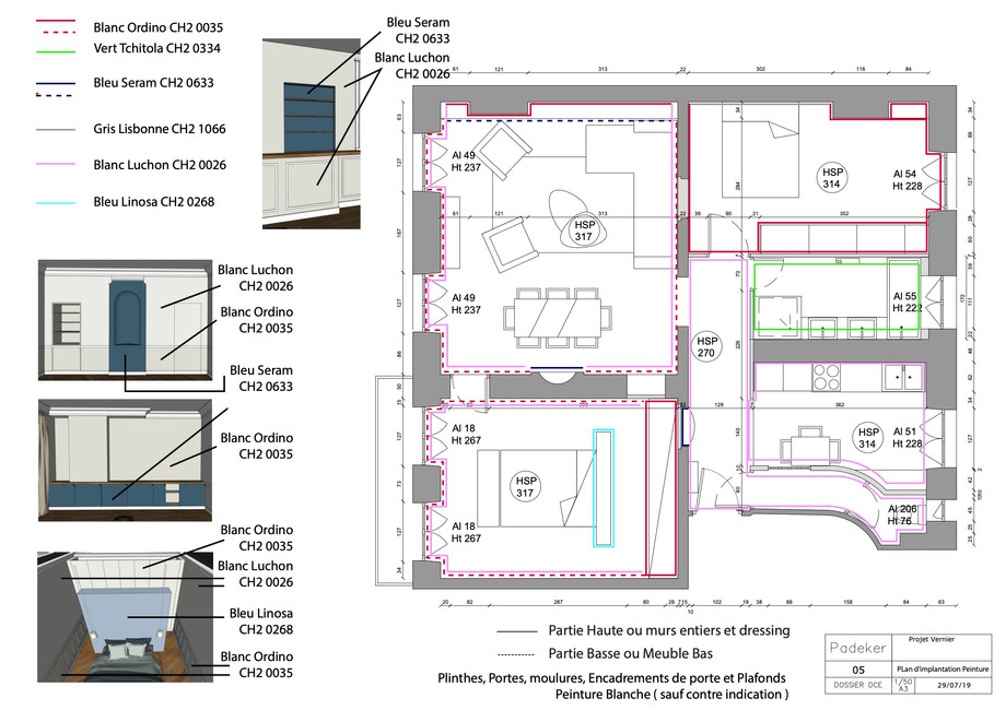 Projet Vernier 190729-05 Plan de l'agenc