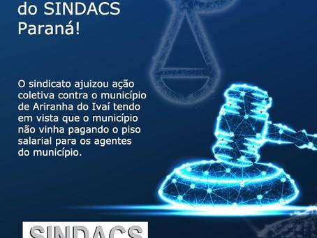 Mais uma vitória do SINDACS Paraná!