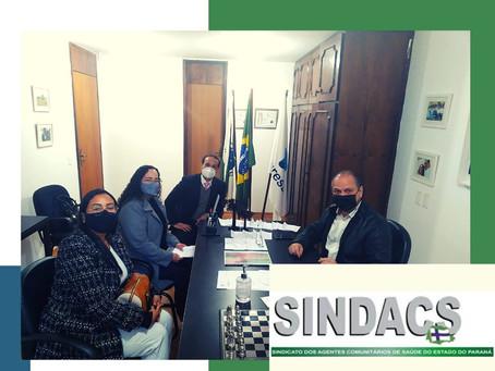 Sindacs Paraná se reúne com Líder de Governo Ricardo Barros (PP)