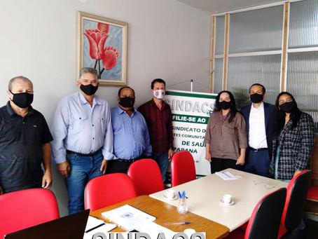 Prezados ACS e ACE no município de Turvo