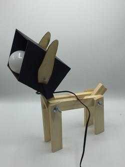 Luminária cachorrinho DIY