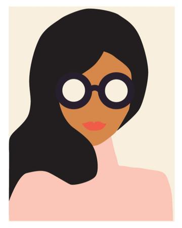 Este desenho foi criado pela artista americana Lisa Procter e faz parte de uma coleção feita em comemoração ao dia internacional da mulher (8 de março).