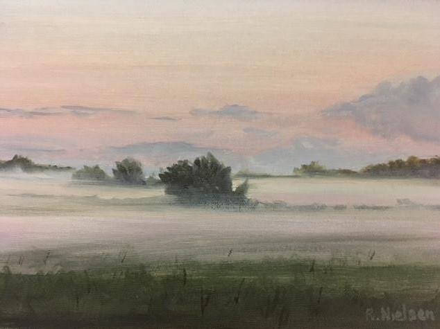 Evening Low-lying Fog