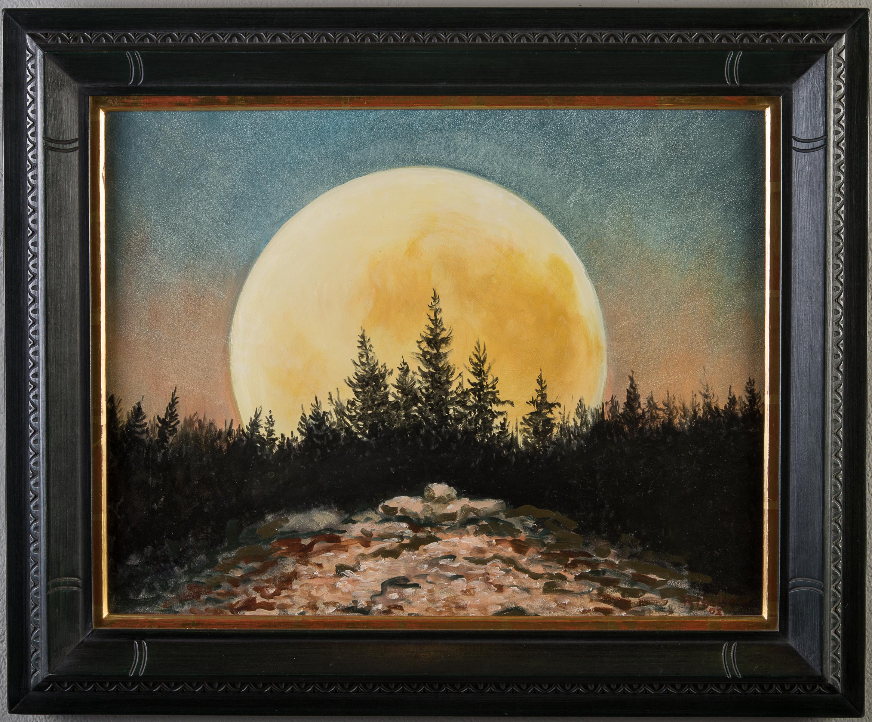 Sacred Moon by Roger Nielsen