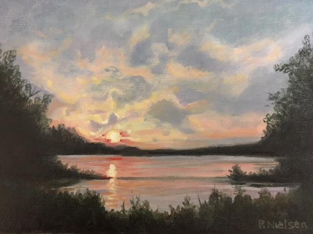 Summer Sunset on Highway 63