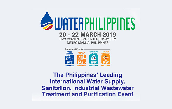 수처리 전시회 Water Philippines 2019