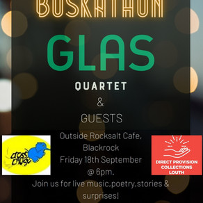 See Us Live at 'Blackrock Buskathon'