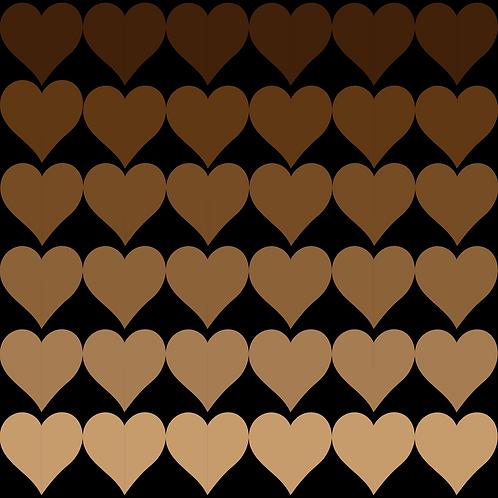 Universal Love Sticker 2x2