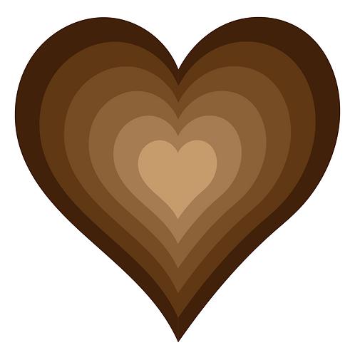 Love in All Colors Sticker 3x3