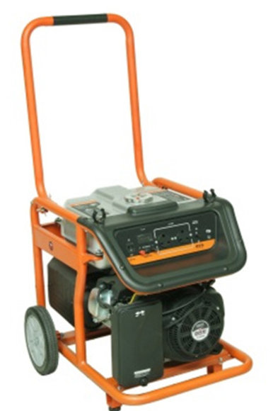 TandemGenerator - 6.0 kVA - Trolley frame - elec. St.