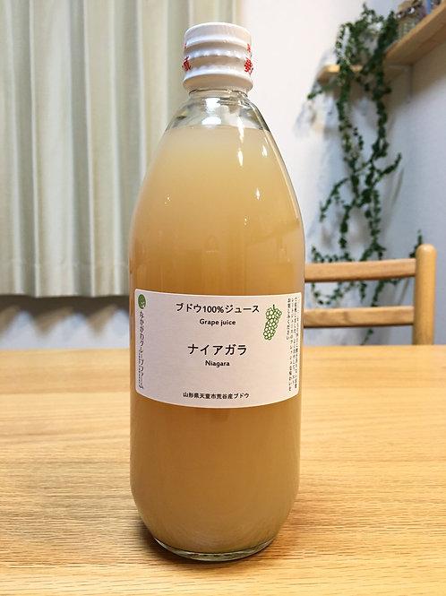 白ブドウ(Na)で造ったグレープジュース