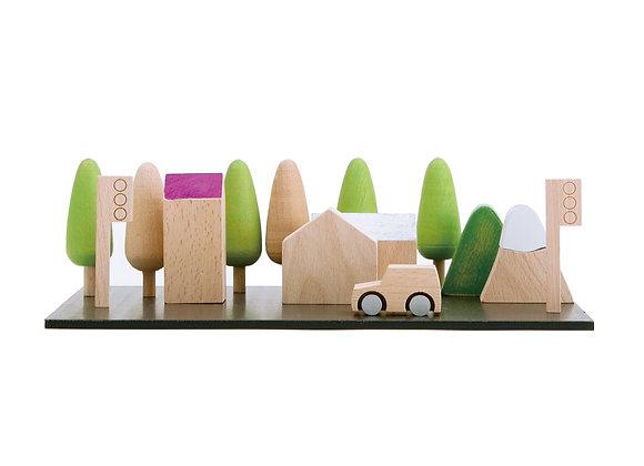 Kiko+ & Gg* Machi - Tiny Wooden Town