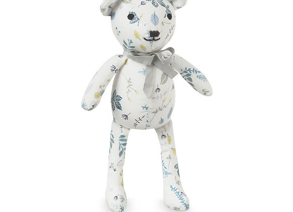 Cam Cam Copenhagen Teddy Bear Pressed Leaves Blue