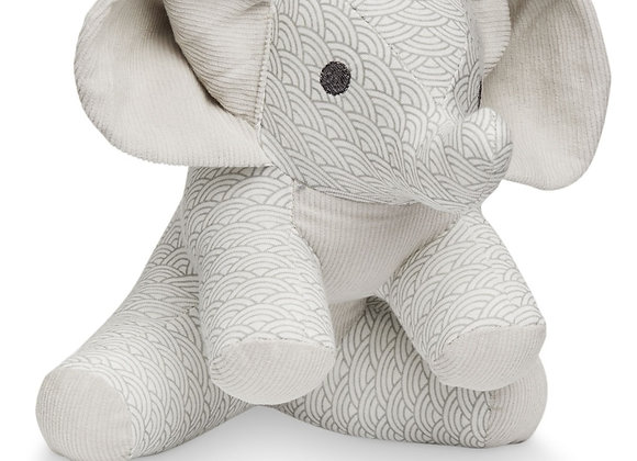 Cam Cam Copenhagen Elephant Soft Toy Grey Wave