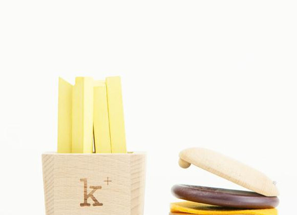Kiko+ & Gg* Hamburger Set Instruments