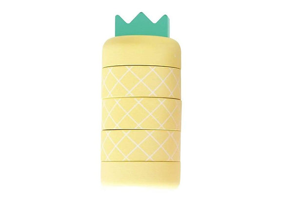 Kiko+ & Gg* Aloha Pineapple - Topple Toy (Yellow)