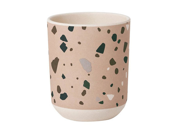 Ferm Living Terrazzo Bamboo Cup - Rose