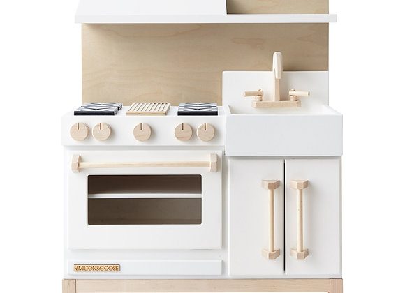 Milton & Goose Classic Play Kitchen White [Pre Order]