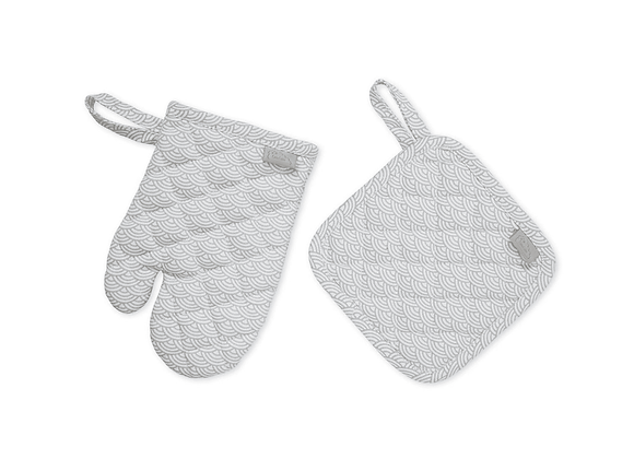 Cam Cam Copenhagen Organic Kids Oven Glove & Pot Holder Set