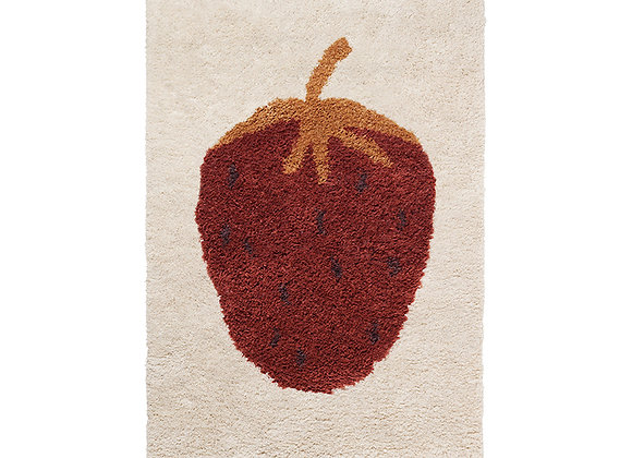 Ferm Living Fruiticana Tufted Strawberry Rug [Pre-Order]
