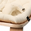 Thumbnail: Charlie Crane Baby Rocker Levo with Organic White Cushion