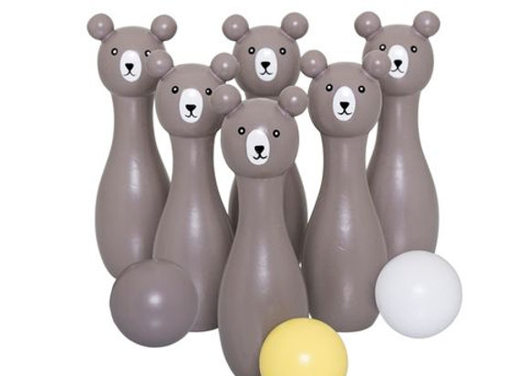 Bloomingville Bear Bowling Set