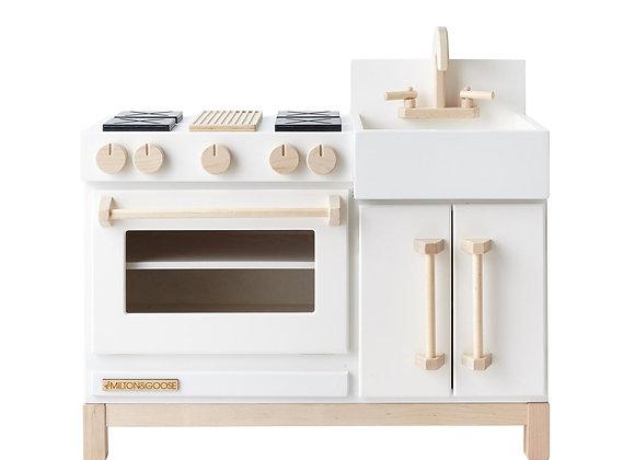 Milton & Goose Essential Play Kitchen White [Pre Order]