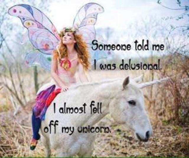 fell off unicorn