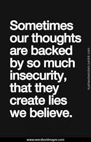 Insecurity Kills Relationships
