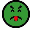 Yuck face