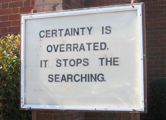 On Certainty