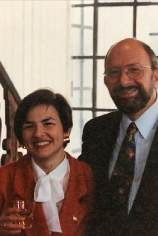 With Professor Stefan Trechsel, former President of the European Commission of Human Rights, who chaired the jury at the defence of my PhD thesis at the EUI (Florence, Italy), on 28 October 1994