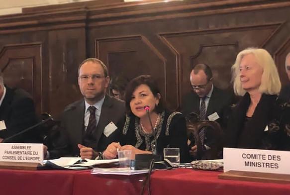 Ομιλία στην Επιτροπή της Βενετίας, Δεκέμβριος 2018